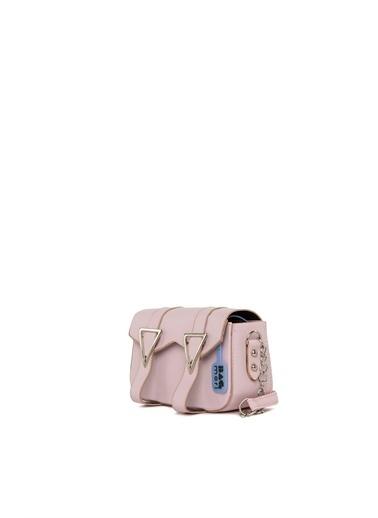 Bagmori Messenger / Askılı Çanta Pembe